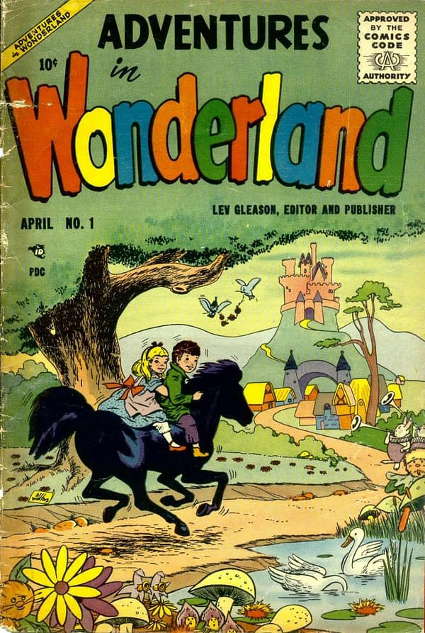 Diving into the Comic Vault: Adventures in Wonderland #1