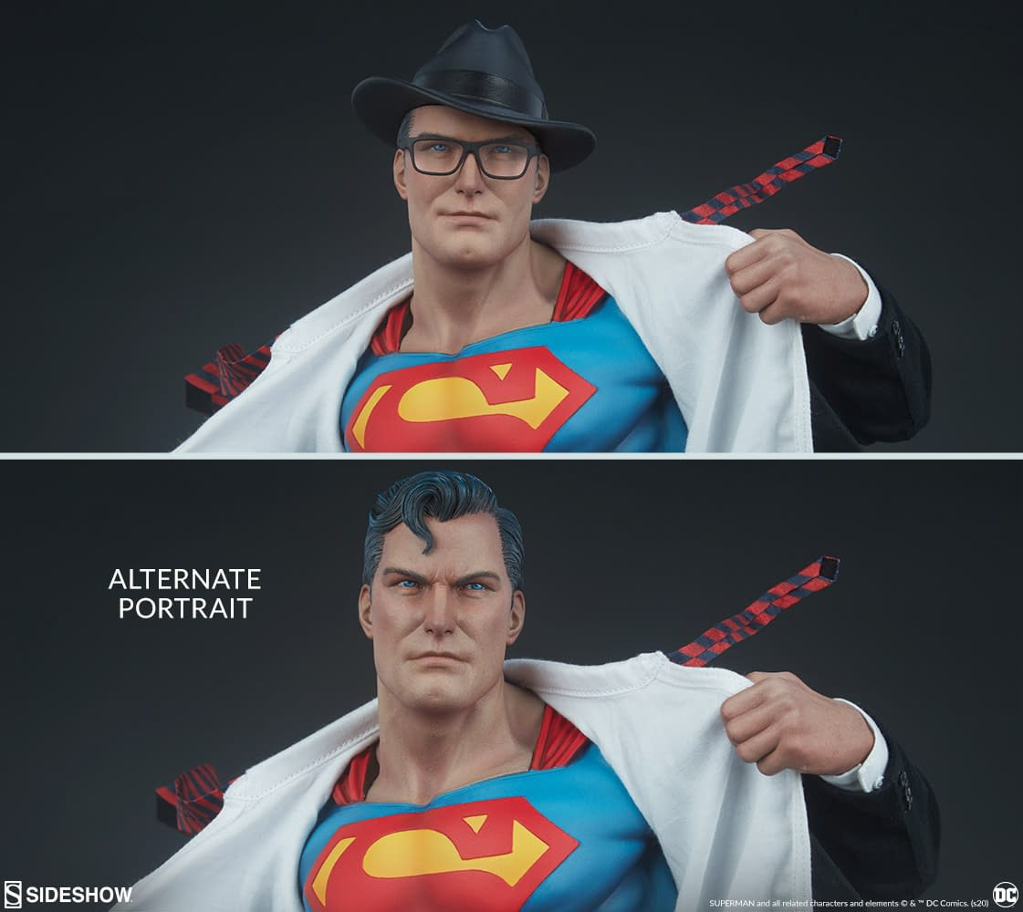 Superman Statue Pre-Orders Finally Go Live From Sideshow Collectibles