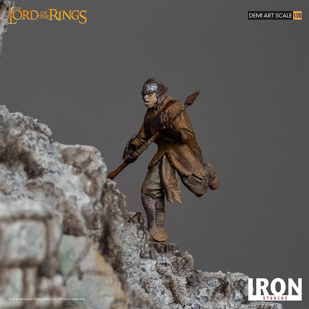 Lord of the Rings Gets a Fell Beast from Iron Studios