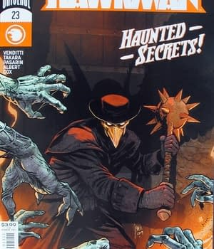 Hawkman #23 Main Cover