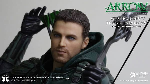 Arrow Hero Oliver Queen Gets a Fancy New Figure From Star Ace Toys