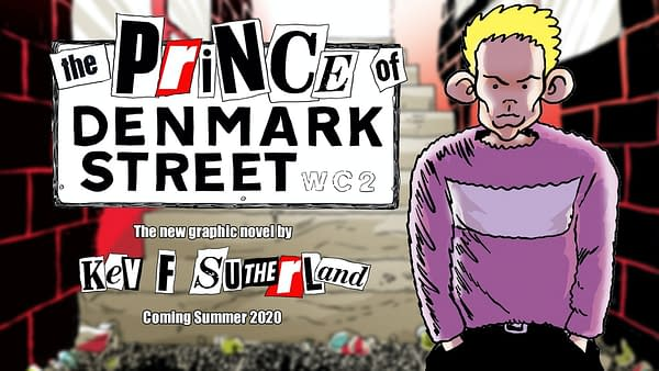 The 1970s Punk London Hamlet Graphic Novel, Created During Lockdown