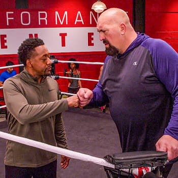The Big Show and Terry are in agreement on The Big Show Show, courtesy of Netflix and WWE.