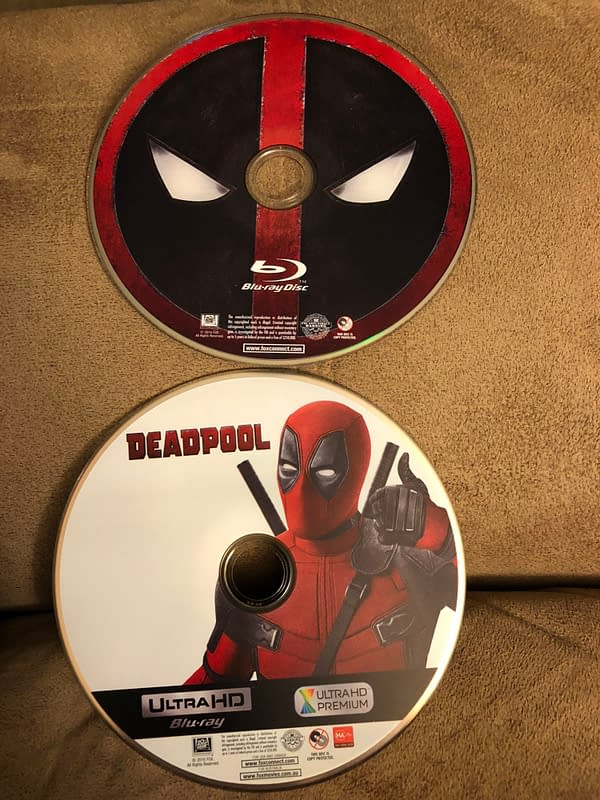 Deadpool Best Buy Exclusive Blu Ray Steelbook 3