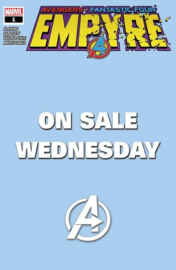 Empyre #1 Wednesday On Sale Variant Cover