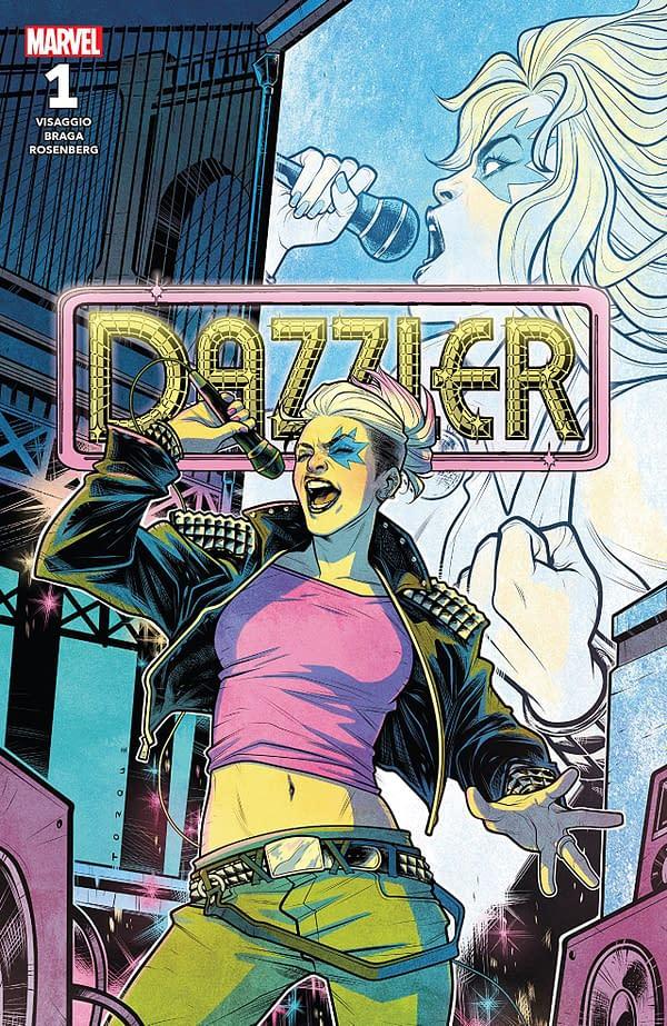 Dazzler: X-Song #1 cover by Elizabeth Torque