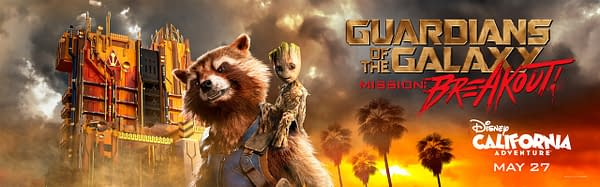 Guardians of the Galaxy Mission Breakout - Banner