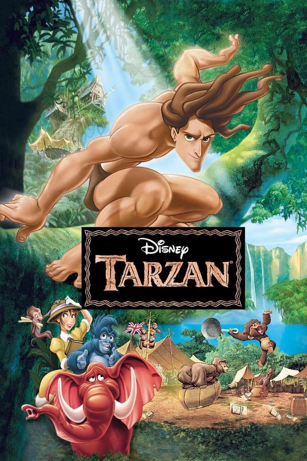 Disney's Tarzan poster. Credit Disney