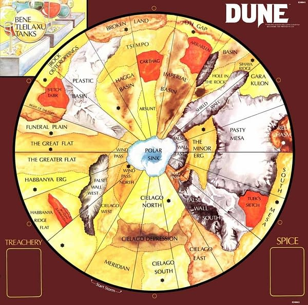 Gale Force Nine Games Re-Releasing Classic 'Dune' Board Game!