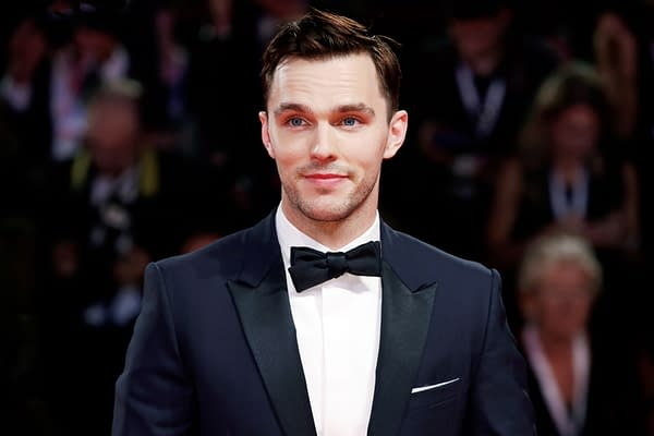 X-Men Nicholas Hoult walks the red carpet of the movie 'The Favourite' during the 75th Venice Film Festival on August 30, 2018 in Venice, Italy. Editorial credit: Andrea Raffin / Shutterstock.com