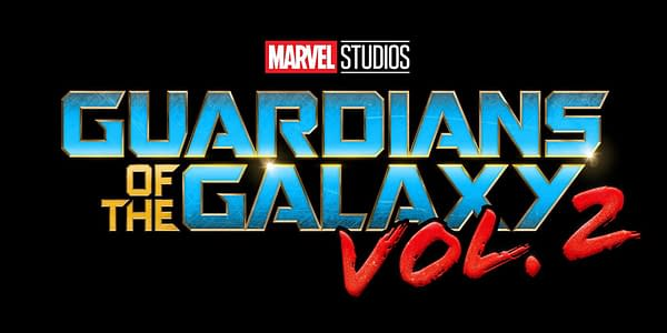 The official logo of Guardians of the Galaxy Vol.2. Credit: Disney/Marvel Studios