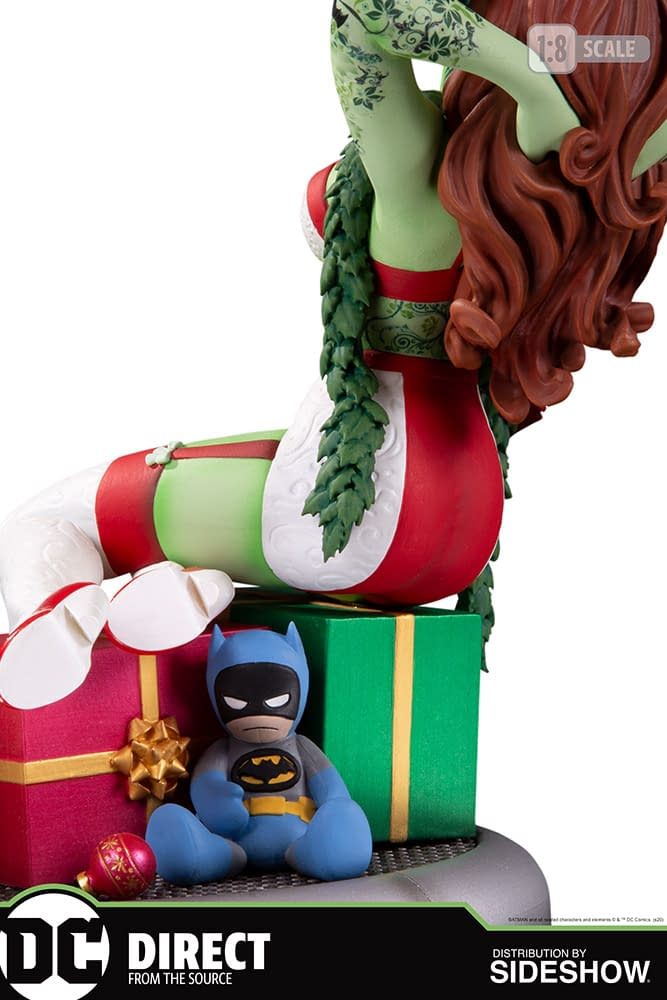 Poison Ivy Brings Holiday Cheer with New DC Direct Statue