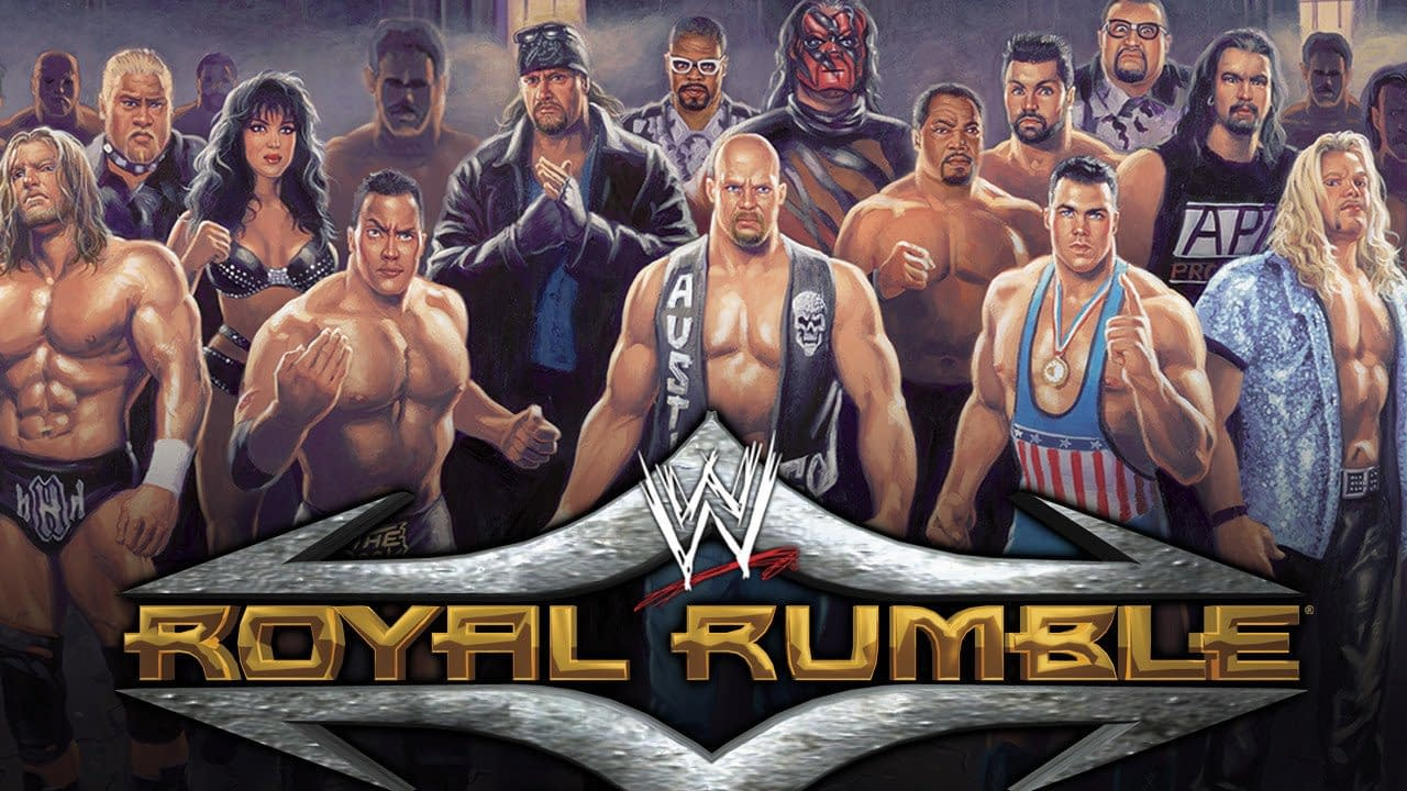Royal Rumble 2001 Poster