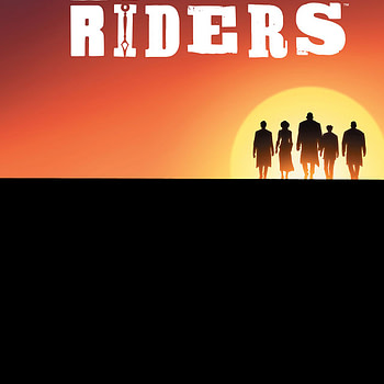 Rough Riders: Ride or Die #4 cover by Patrick Olliffe and Gabe Eltaeb