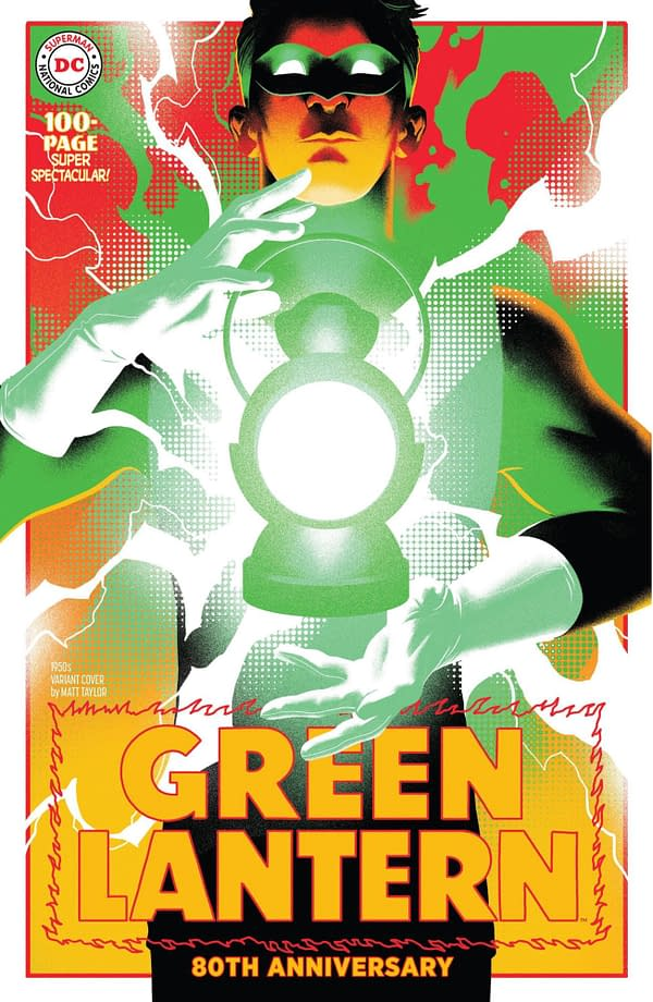 Green Lantern 80th Anniversary Special #1 1950's Variant Cover