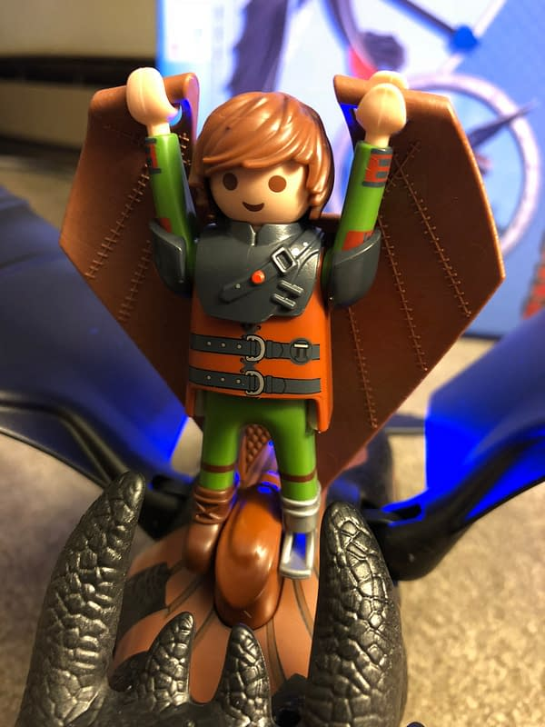Playmobil Dragons Hiccup and Toothless Playset 7