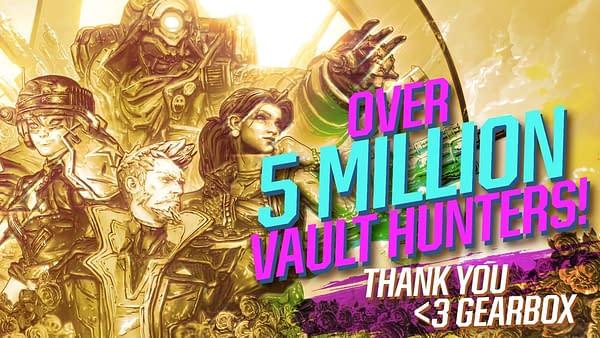 """2K Games Boasts Impressive Sales For """"Borderlands 3"""""""
