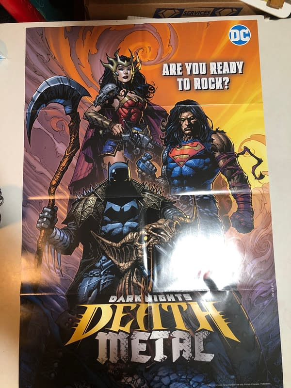 Death Metal #1 David Finch Group Variant Cover Promotional Poster
