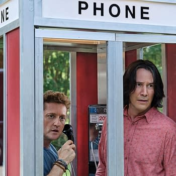 Keanu Reeves and Alex Winter in Bill & Ted Face the Music (2020). Image Credit: Orion Pictures