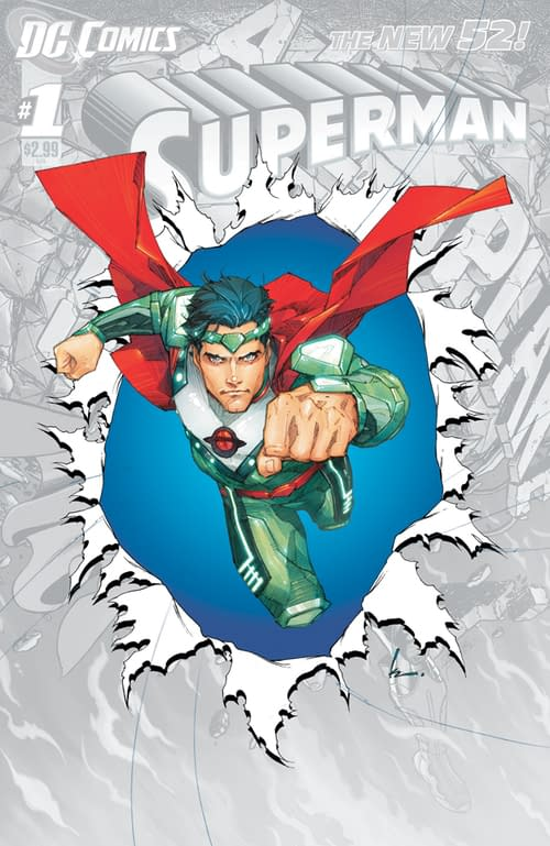 DC Confirms Scott Lobdell To Write Superman To The Huffington Post, And He's Bringing Kenneth Rocafort