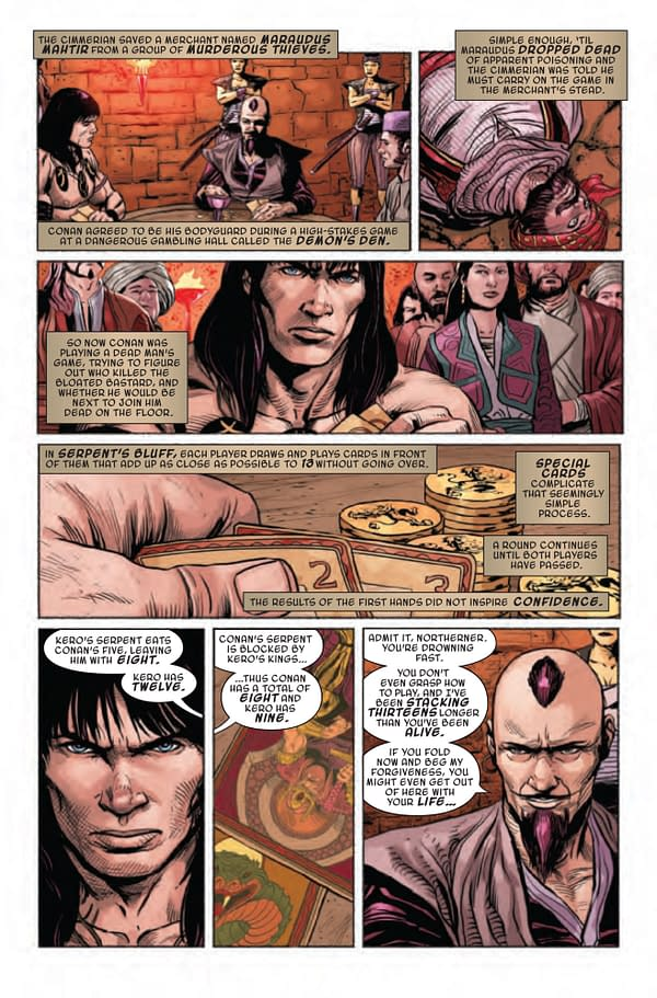 Savage Sword of Conan #8 [Preview]