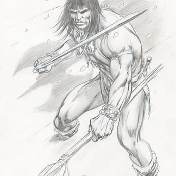 Roy Thomas and Alan Davis Tell Prequel to Conan The Barbarian's People Of The Black Circle