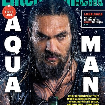 2 Covers from Entertainment Weeklys Aquaman Issue