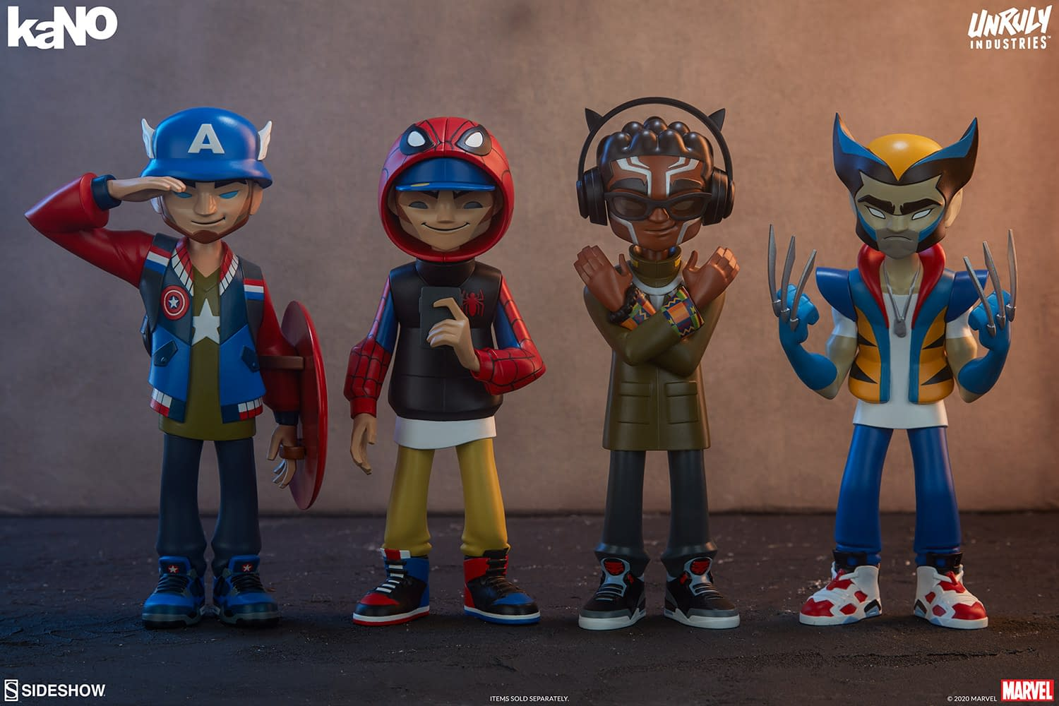 Marvel Designer Collectible Figures from Unruly Industries