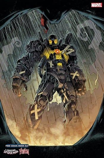 First Appearance of Virus is Now in Last Week's Venom #25.