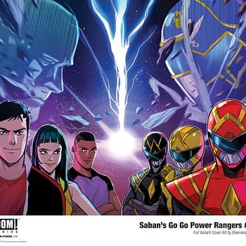 BOOM to Cancel Power Rangers Comic in April