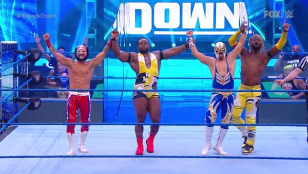 The New Day and Lucha House Part stand tall on WWE Smackdown