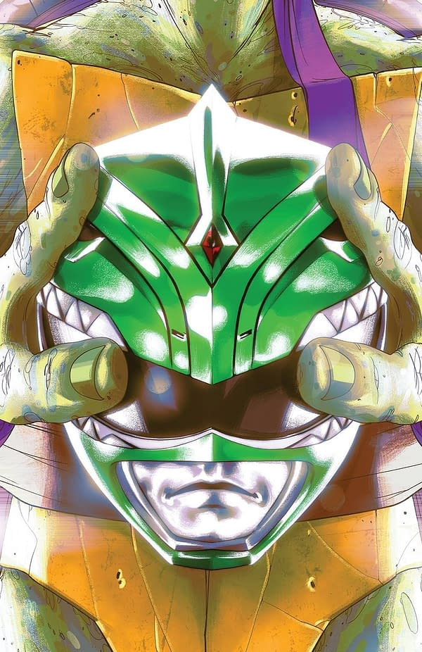 Power Rangers TMNT #5 1-In-25 Cover