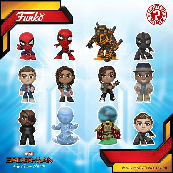 Funko Shows Off Villains of 'Spider-Man: Far From Home'