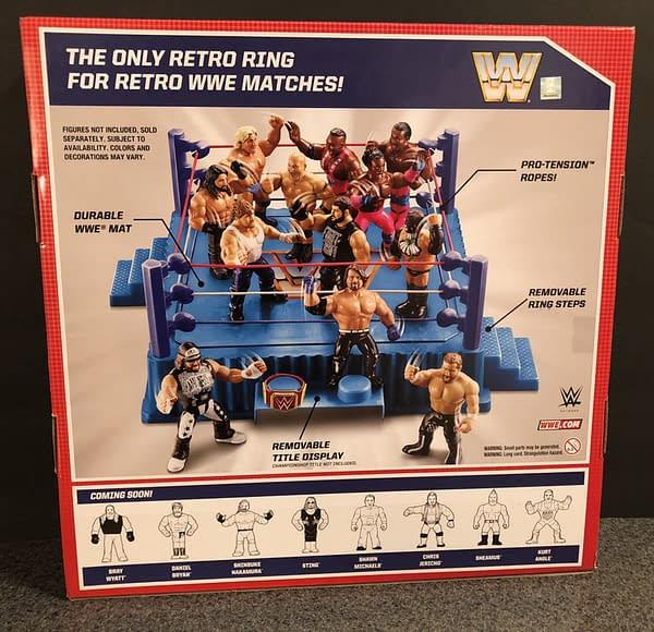 Mattel WWE Retro Ring 2