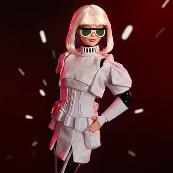 The Star Wars x Barbie Collection from Mattel Stormtrooper