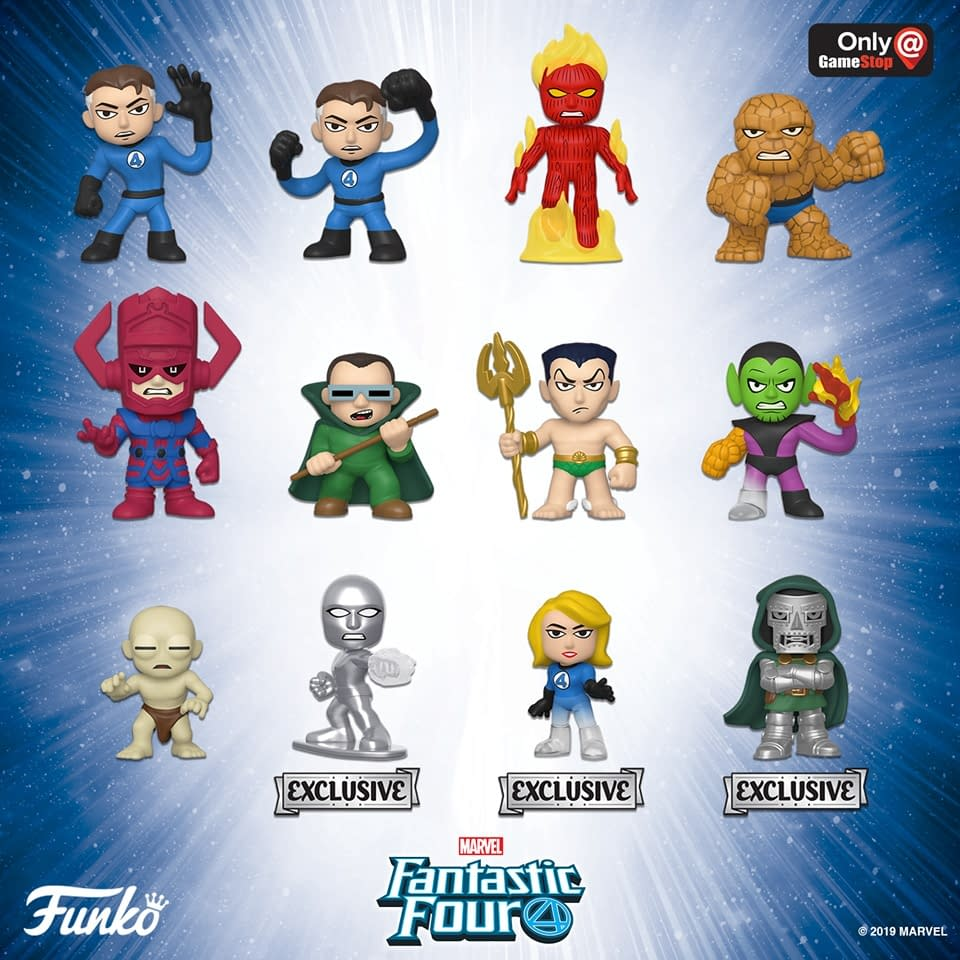 Fantastic Four Funko Pops Have Been Announced!