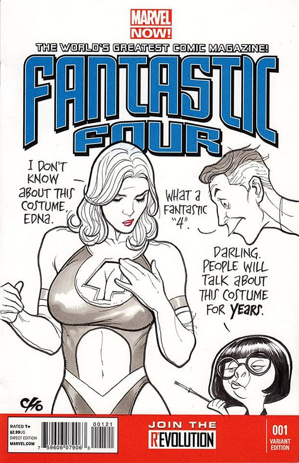 Zatanna As A Hogwarts Professor? Frank Cho's Sketch Covers And Commissions From San Diego Comic-Con
