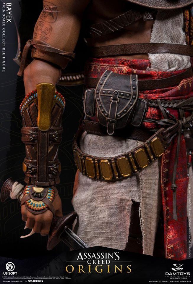 Assassin & # 039; s Creed Origins Bayek Figure de Damtoys