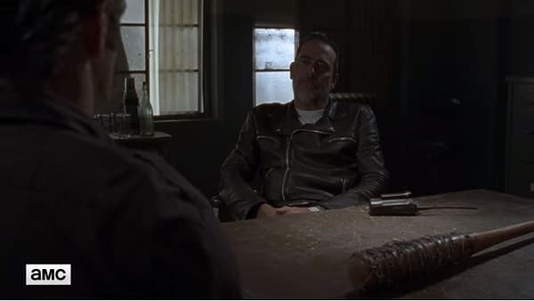 """The Walking Dead S08 Episode 10: Negan Reminds Simon, """"Just One"""""""