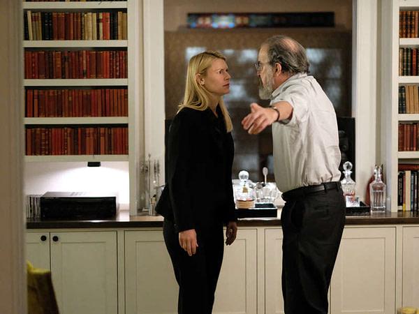 Après huit saisons, Saul et Carrie s'affrontent dans la finale de la série Homeland, gracieuseté de Showtime.