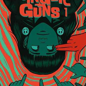 Justin Richards and Val Halvorson Launch Finger Guns #1 in Vault Comics February 2020 Solicitations