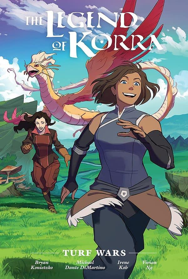 The Legend Of Korra Turf Wars comic cover.