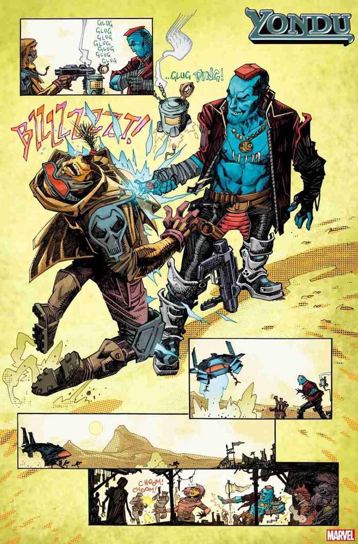 Yondu Gets His Own Series by Zac Thompson, Lonnie Nadler, John McCrea