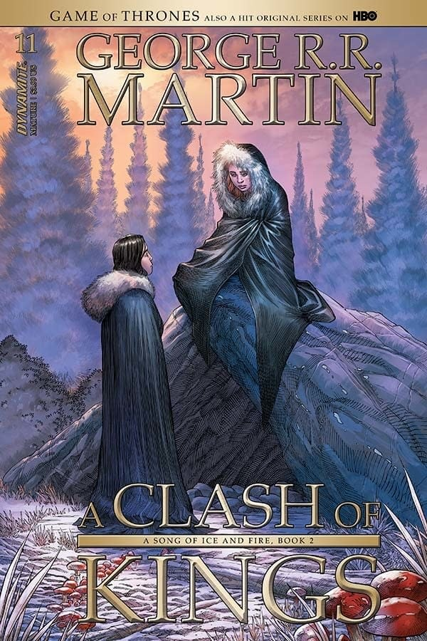 Writer's Commentary – Landry Q. Walker Talks A Clash of Kings #11