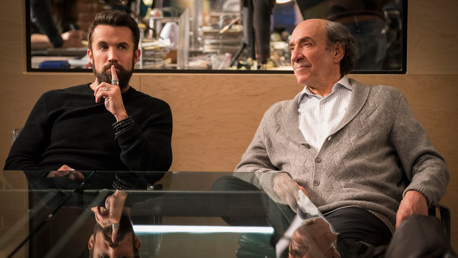 Mythic Quest - Rob McElhenney and F. Murray Abraham