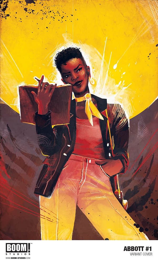 Boom! Announces Abbot, A Supernatural Crime Comic By Saladin Ahmed And Sami Kivelä