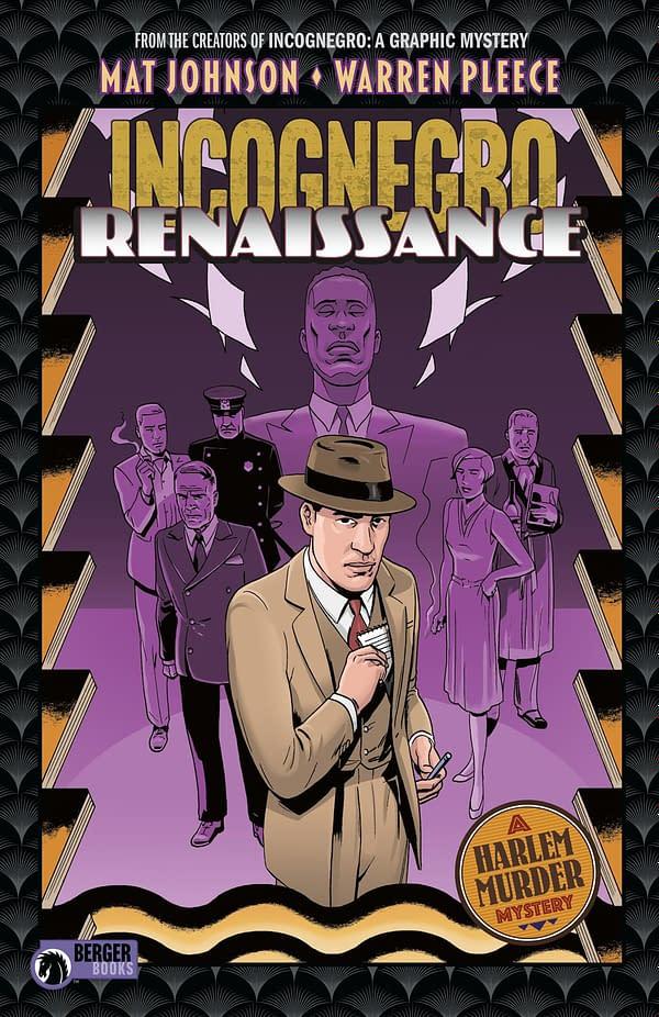 Dark Horse Collects Mat Johnson and Warren Pleece's Incognegro: Renaissance in October