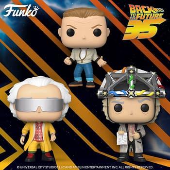 Back to the Future Funko Pops
