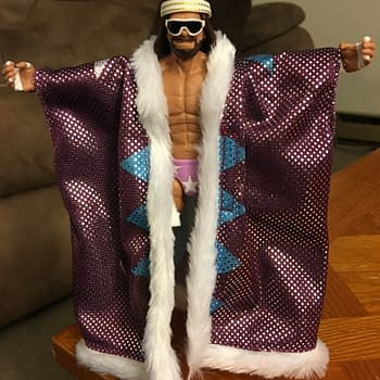 Macho Man Gets Immortalized In Latest Mattel WWE Defining Moments Figure