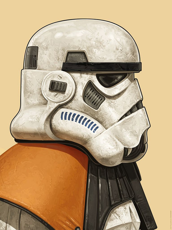 Mondo Mike Mitchell Star Wars Sandtrooper Print